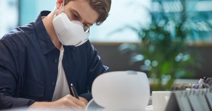 LG PuriCare 口罩型空氣清淨機、UV 消毒充電盒同步在台開賣