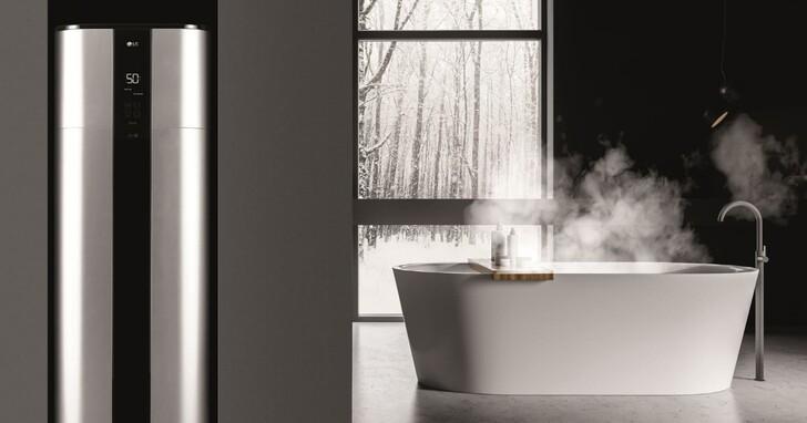 LG 發表智慧變頻熱水器和設計師概念家電,一年可省下 74% 用電量