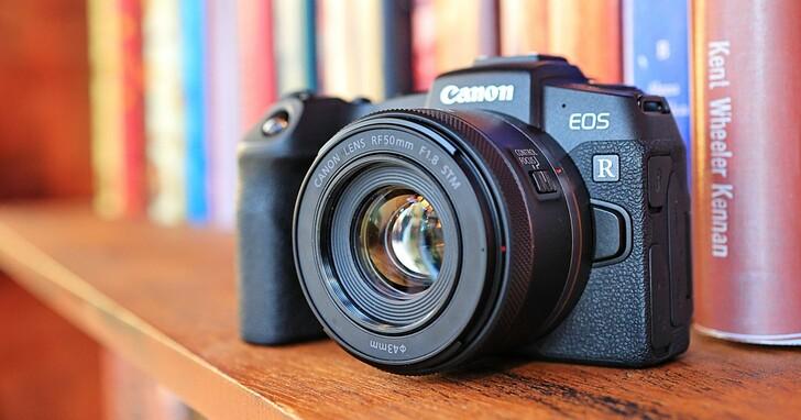 Canon 推出 RF 接環平價大光圈標準定焦鏡 RF 50mm F1.8 STM,售價 5,900 元