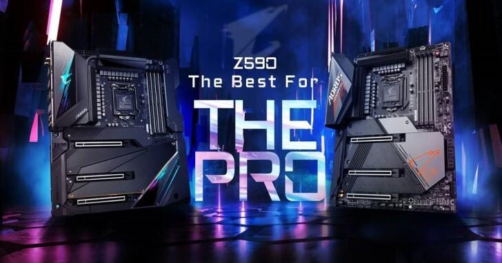 GIGABYTE推出最新Z590 AORUS系列主機板,最高搭載20相全數位100A電源