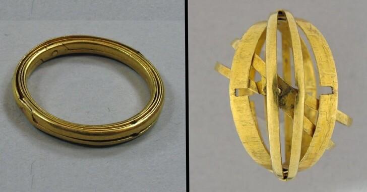 這款400年前的戒指,展開來讓人懷疑根本是奇異博士遺失的戒指