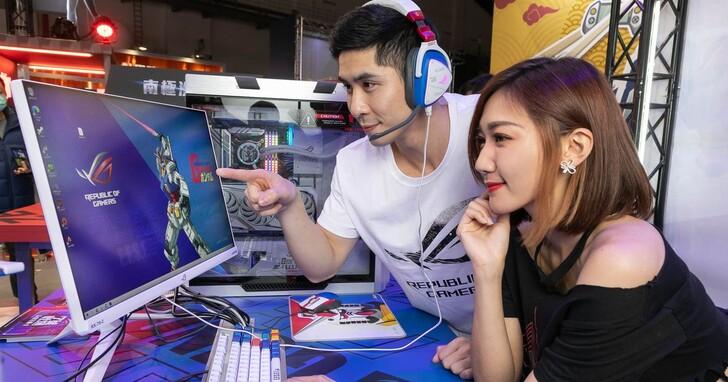 ROG打造台北電玩展No.1朝聖點,鋼彈聯名主題區華麗進駐