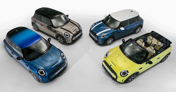 全新 MINI 掀背、敞篷車型改款登場,這次跟以往的差別很明顯!