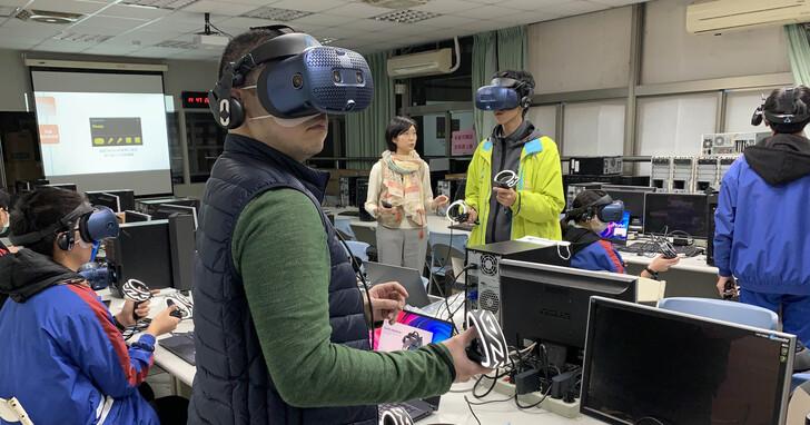 HTC與新北高工合作,首間技術中學「VIVE培訓中心」落成