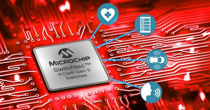 Microchip發佈世界首款PCI Express 5.0交換器