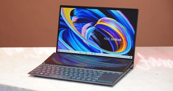 Asus ZenBook Duo 14 評測:雙螢幕筆電實用性升級,符合 Intel Evo 平台認證