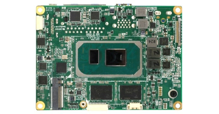 AAEON PICO-TGU4主機板,Pico-ITX尺寸搭載最新Tiger Lake處理器
