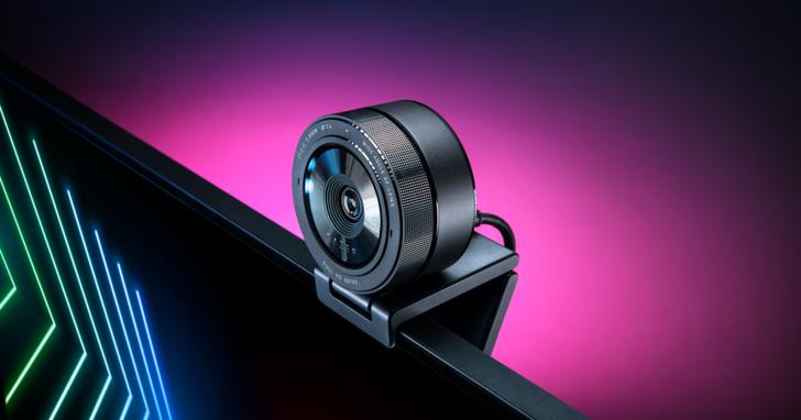 RAZER推出視訊攝影機KIYO PRO,任何燈光下皆能提供擬真影像