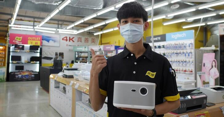 OVO 智慧投影機K1奪燦坤銷售冠軍,帶動通路月銷量成長300%