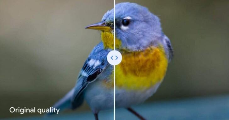 為了多跟你收費,Google相簿終於告訴你「高畫質」上傳對照片的細節破壞有多大