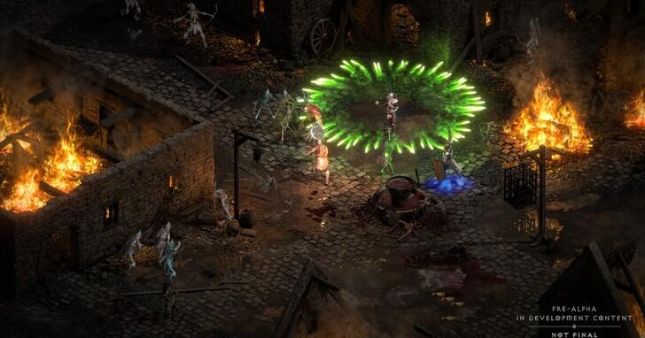 《暗黑破壞神 II:獄火重生》可以直接玩舊版存檔!老玩家快把 20 年前的遊戲存檔挖出來