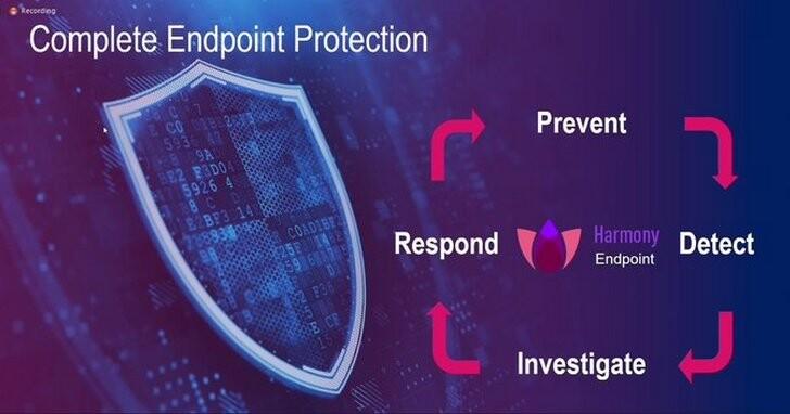 Check Point Harmony業界首款整合式解決方案,重新定義遠距辦公資安戰略
