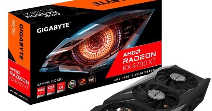 技嘉隆重推出Radeon™ RX 6700 XT系列顯示卡