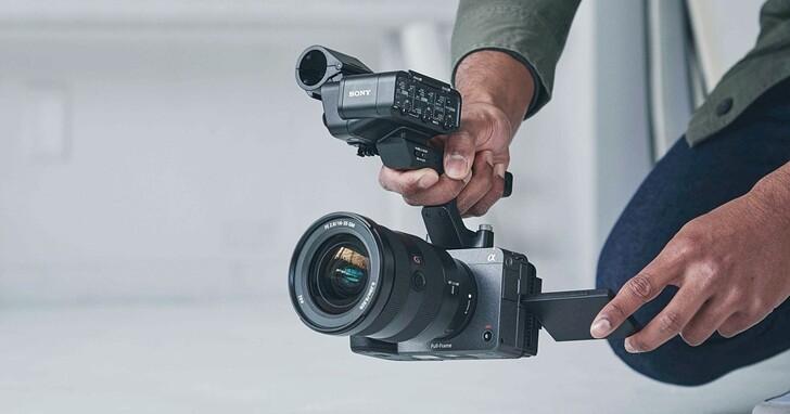 全幅電影機Sony FX3 在台上市,內建風扇可錄 4K120fps售價近11萬