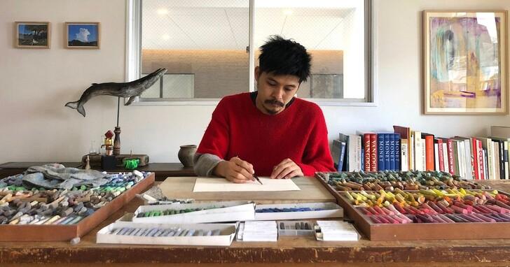 他的災難藝術,在日本拯救了生命
