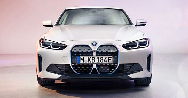 BMW i4量產版電動車發佈,馬力530匹、590公里續航,國內於2022年推出