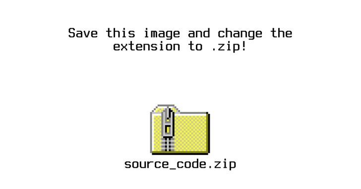 十幾年前在圖片中藏入其他檔案的網路小把戲,現在可以塞入一首mp3