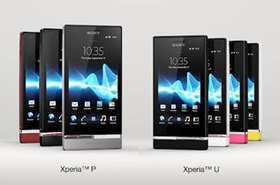 MWC 2012:SONY Xperia P、Xperia U 雙機愛色彩