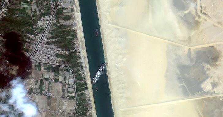 「大排長榮」有多塞?國家太空中心公布福衛五號3張衛星空照圖