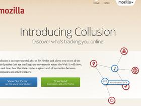 Mozilla Collusion 附加元件,即時顯示網站背後的追蹤行為
