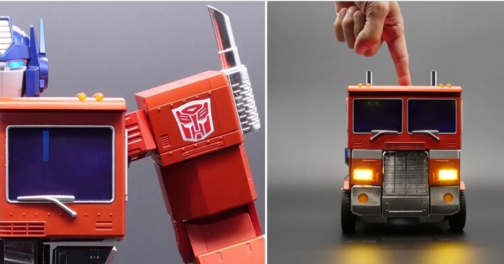 真能完整從卡車自動變形的正牌柯博文來了!支援自動變身、接收語音指令,但要價 700 美元