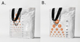 小米自我吐槽,真的推出小米LOGO「視力表」環保袋