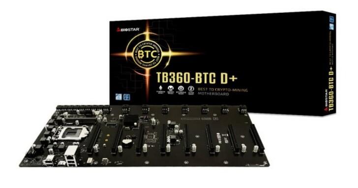 挖礦專用主機板來了,BIOSTAR在台推出TB360-BTC D+ 售價6990元
