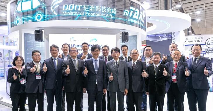 經濟部打造千項車電專利庫,25項亮點展品創造產業技術新突破