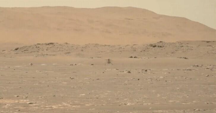 人類首架火星無人機試飛成功,「機場」用「萊特兄弟」命名