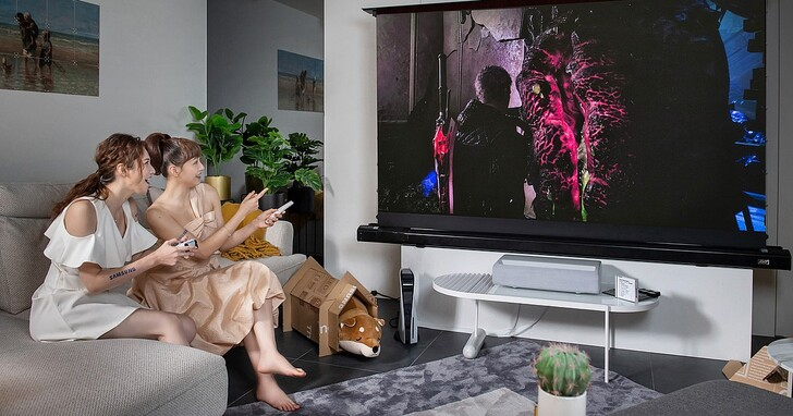 三星發表 2021 設計生活電視系列,超短焦雷射 4K 智慧電視「The Premiere」首度登台