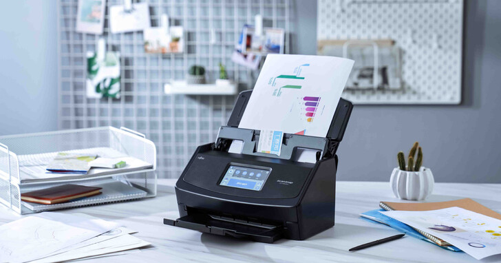 富士通 ScanSnap iX1600 高速掃描器開箱實測:獨立螢幕、一鍵掃描再加商用級掃描速度~滿足多元文件數位化需求!