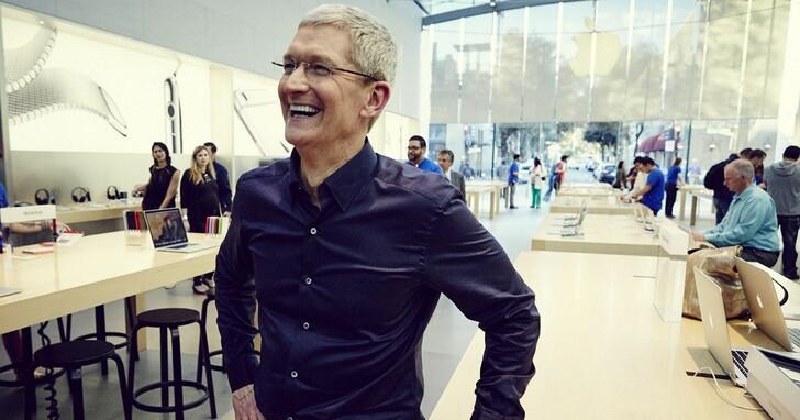 庫克笑了:換了M1後Mac銷售額增長70%,iPhone也增長66%