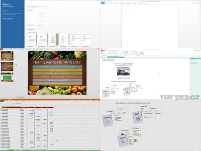 Office 15 新功能搶先認識,針對平板加入閱讀、觸控模式