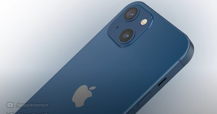iPhone 13 最新算繪圖又來了:瀏海縮小,後置鏡頭排列微調