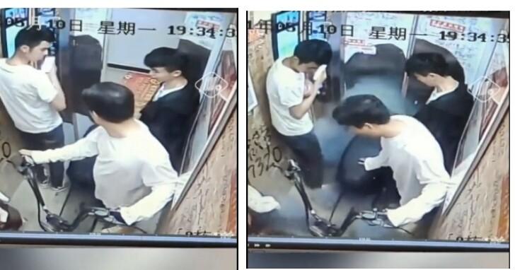 中國居民牽電動車進電梯想回家充電,電梯門一關瞬燃爆炸超恐怖