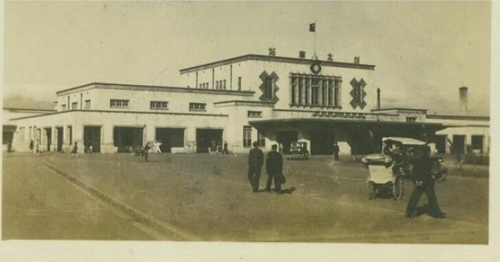 連天橋都沒有,1940年代的臺北車站原來是長這樣!