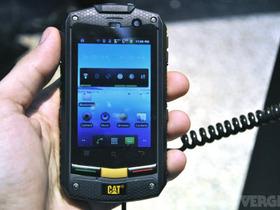 強悍 Android 手機!Caterpillar CAT B10 防刮、防水又防塵