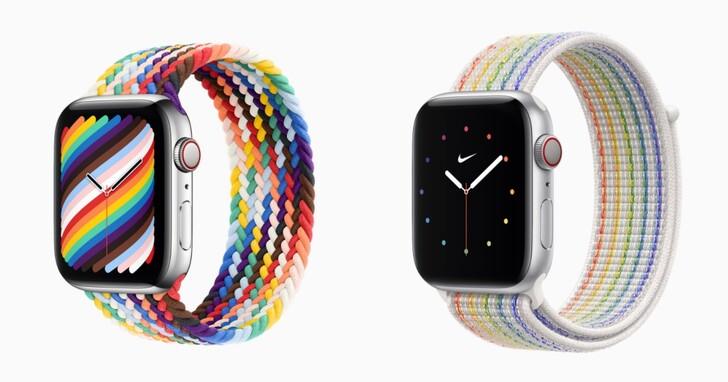 Apple Watch 推新彩虹錶帶,編織單圈錶環超好看!