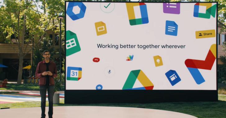 Google Wrokspace 導入 Smart Canvas 功能,線上會議人員同時討論使用試算表/投票/日曆工具
