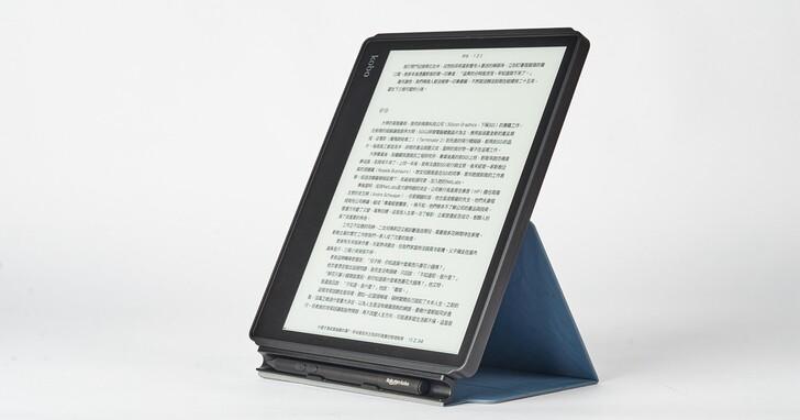 Kobo Elipsa 電子書閱讀器,首款10.3吋大螢幕可手寫旗艦機,早鳥預購最低11,000元