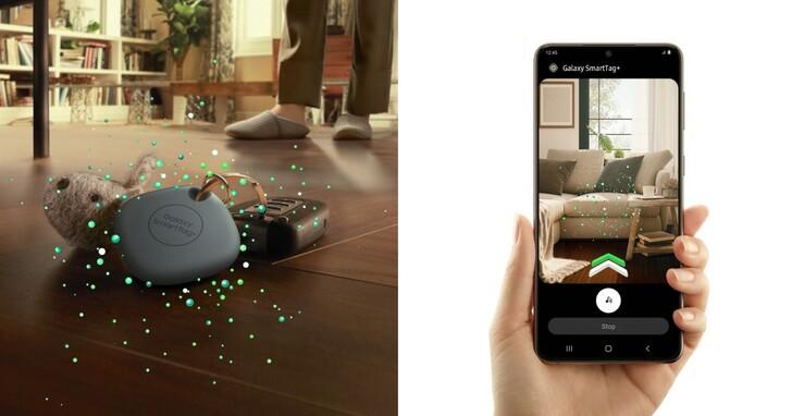 三星 SmartTag+ 藍牙智慧防丟器新色登台,支援 UWB 丹寧藍新色 1,290 元