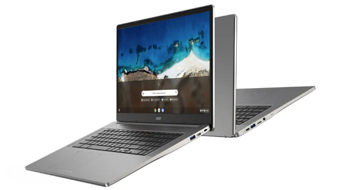 Acer 發表四款 Chromebook,含全球首款「巨無霸級」 17.3 吋 Chromebook 317