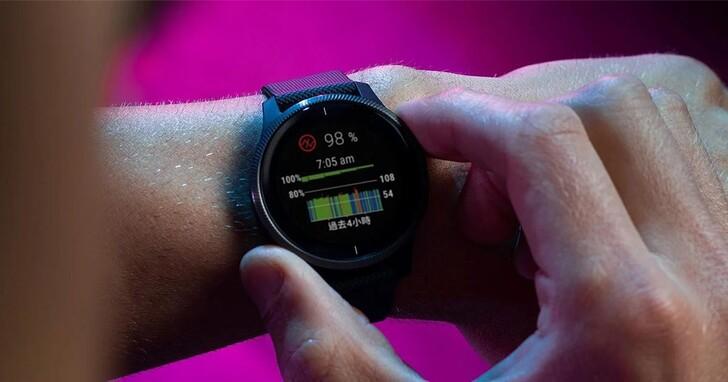 Garmin智慧手錶結合血氧感測、呼吸速率功能,防疫更安心