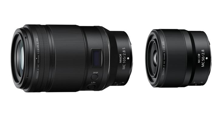 Nikon 發表兩款 Z-Mount 微距鏡頭:105mm F2.8 VR S/50mm F2.8