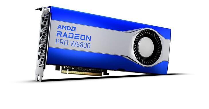 AMD發表Radeon PRO W6000系列工作站繪圖卡,搭載RDNA 2架構、32GB記憶體