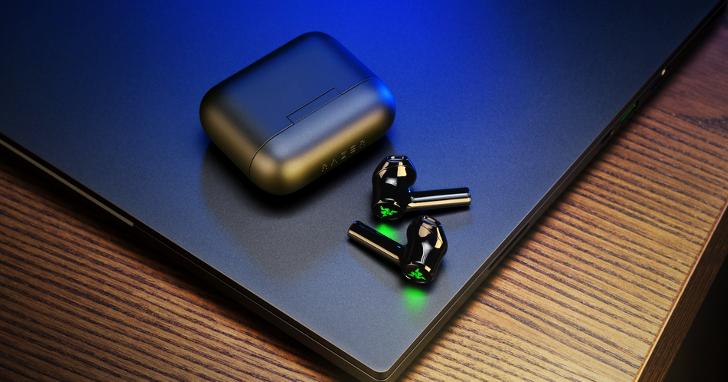 RAZER全新真無線耳機 ,搭載13mm驅動單體、60毫秒低延遲遊戲模式,售價2,390元