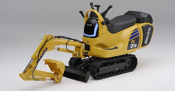挖土機也能共享電池?Honda 真的把換電系統用在工業機具上了