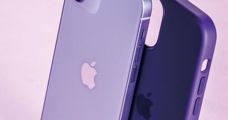 2021紫色Apple iPhone 12開箱,同步加映多色保護殼、MagSafe皮革卡套周邊