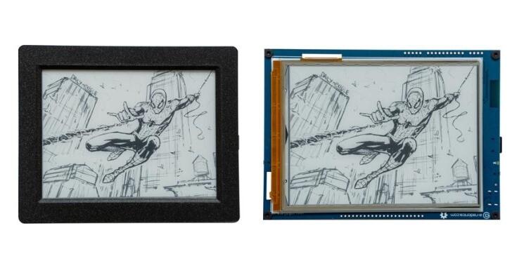 Inkplate 6 Plus土砲電子紙螢幕,6吋、觸控、前光還有無線連網功能