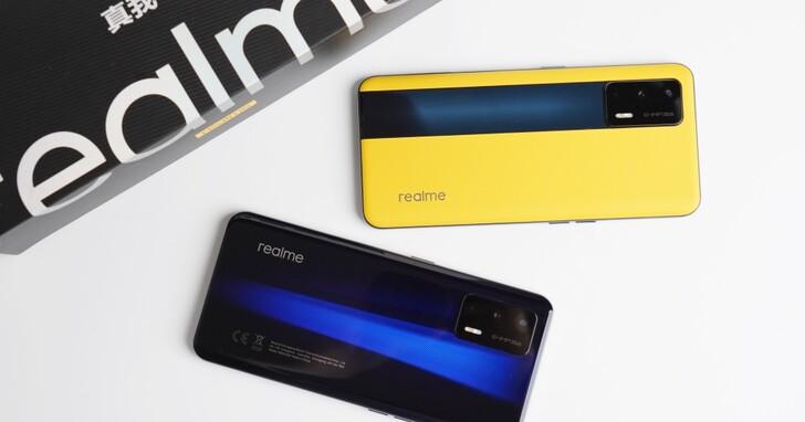 realme GT 雙色開箱評測:最平價的 S888 旗艦電競手機,旗艦規格13,990 元起